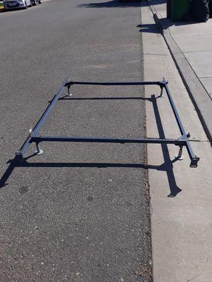 Metal bed frame full size for Sale in Winchester, CA