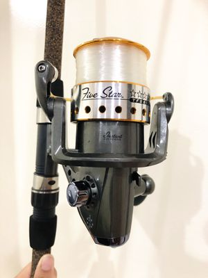Tsunami Fishing rod and reel for Sale in Queens, NY