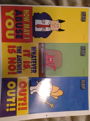 Dilbert door hangers for Sale in Columbia, MD
