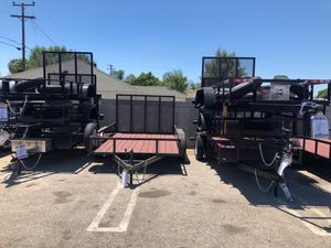 UTILITY TRAILERS FLAT BED TRAILA for Sale in La Puente, CA