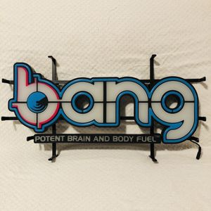 BANG ENERGY DRINK NEON LED SIGN for Sale in West Haven, CT