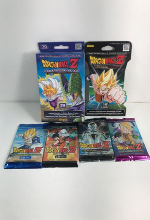 Sealed DBZ deck and booster pack lot dragonball z cards for Sale in Vancouver, WA