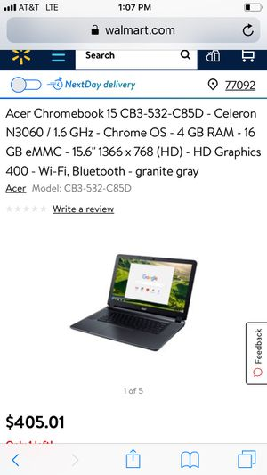Almost Brand New Acer Chrome Book for Sale in Austin, TX