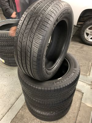 235/55/17 set of Michelin tires installed for Sale in Rancho Cucamonga, CA