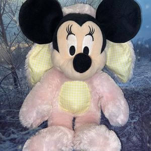 Disney Minnie Mouse Easter Bunny Suit Costume Pink and Yellow Plush for Sale in Long Beach, CA