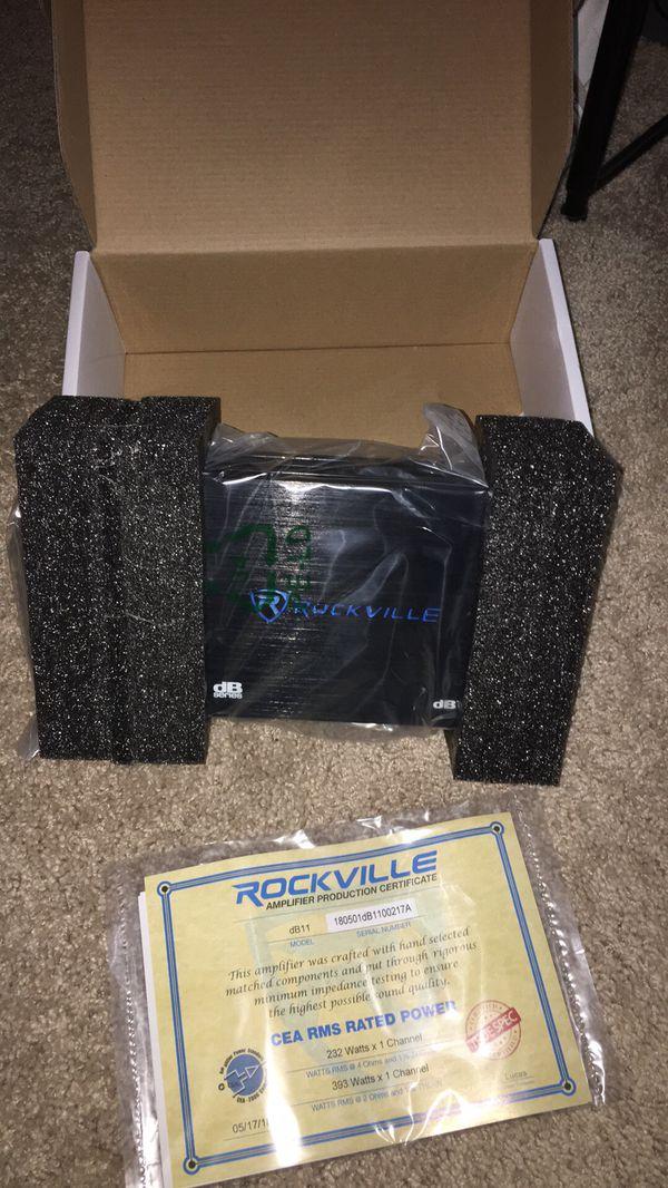 Rockville dB11 Mono Amp 1400w NEW