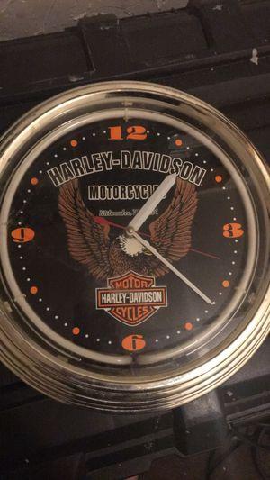 Harley Davidson clock for Sale in Boston, MA