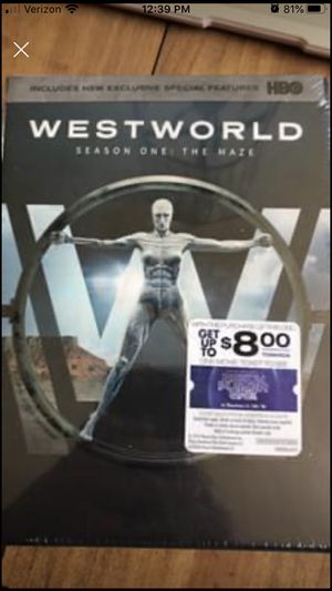 Westworld Season 1 DVD for Sale in Indianapolis, IN