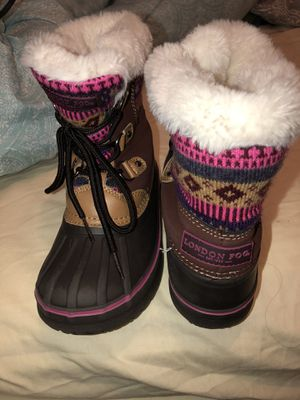 Recently bought gently used London fog girls boots for Sale in Naperville, IL