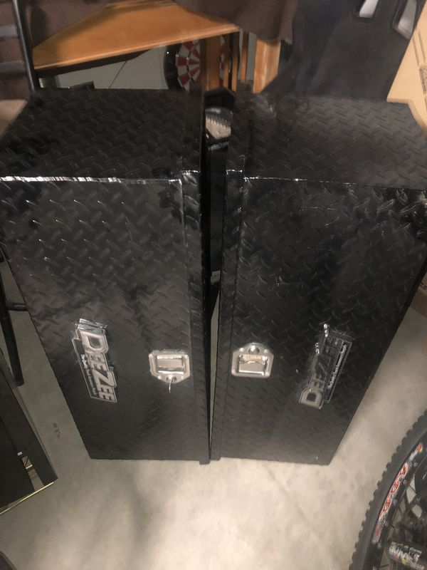 Two (2) Deezee M207 ATV box -Used Great Condition- Black