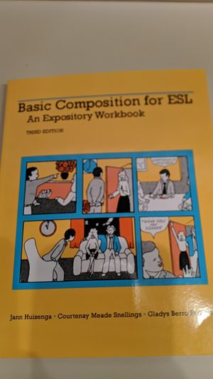Basic Composition for ESL third edition for Sale in Miami, FL