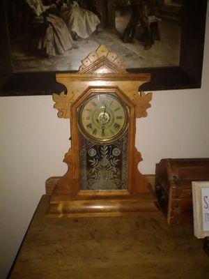 Antique Ingram Gingerbread Clock for Sale in Fresno, CA