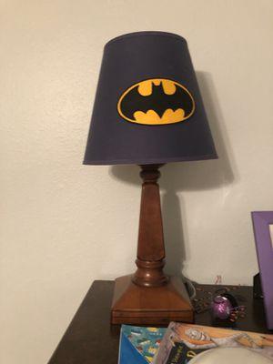 Pottery barn Batman lamp for Sale in Tampa, FL