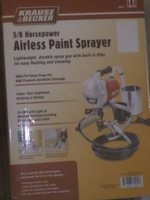 Airless paint sprayer 5/8 Horsepower for Sale in Vallejo, CA