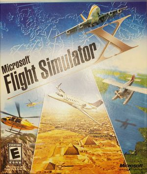 Microsoft Flight Simulator X for Sale in Tyler, TX