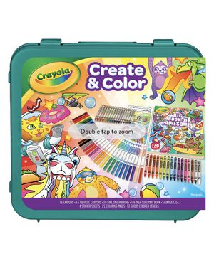 Crayola Epic Create & Color Art Case 75 Piece Art Set Boys and Girls Ages 5+ Child for Sale in Milford Mill, MD