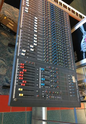 Spirit studio LC pro audio soundboard for mixing professional audio and midi England made BCP005744 for Sale in Huntington Beach, CA