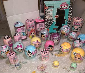 HUGE LOL LOT -OMG SWAG, HairGoals, Series 3 ,Glitter Globe, Fluffy Pets PLUS so much more for Sale in Carol Stream, IL