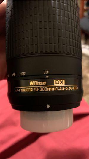 Nikon lens for Sale in Manteca, CA