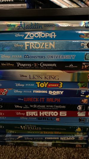 Disney Blu Ray Movies for Sale in Glendale, CA
