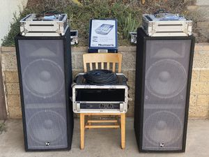 Dj Equipment professional for Sale in Vista, CA