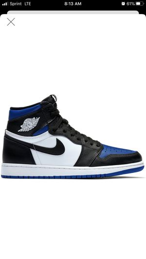 Nike air Jordan 1 Royal size 8 and 8.5 for Sale in Bellevue, WA