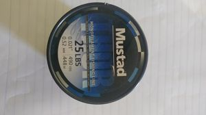 Mustard fishing line 25 lb for Sale in Fresno, CA