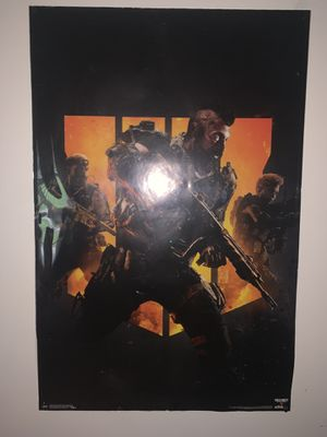 Gaming poster for Sale in Longview, TX
