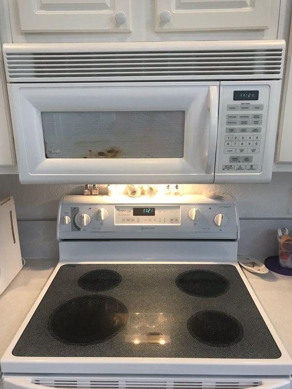Whirlpool Stove Oven Range, Dishwasher & Microwave
