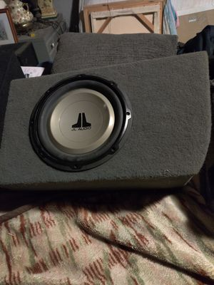 Jj audio speakers 10s for Sale in Bakersfield, CA