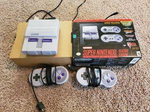 Super nintendo NES mini - 21 games for Sale in Fresno, CA