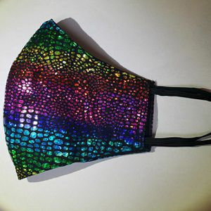 Face Mask For Ladies. Very Shiny. Glitter. for Sale in Poinciana, FL