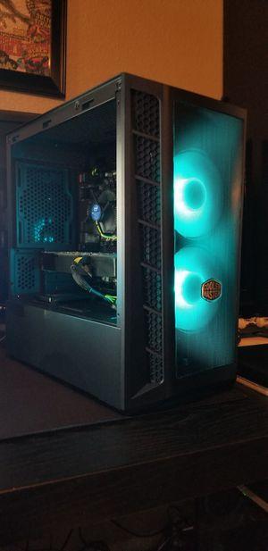 New Custom Built Rgb Gaming PC w/ 9th gen intel, gtx 960, 16gb, ssd+hdd for Sale in Chula Vista, CA