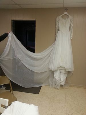 Wedding dress size small $20 for Sale in Bessemer, AL