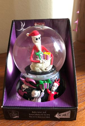 Nightmare Before Christmas wind up snow globe for Sale in Tualatin, OR