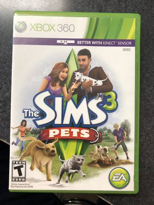 Xbox 360 Sims 3 Pets Game for Sale in Lisbon, CT