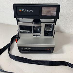 Vintage Polaroid Sun600 LMS Instat Film Flash Camera Works Strap included for Sale in Beaverton, OR