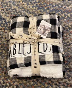 Rae Dunn Blessed Blanket for Sale in Wallingford, CT