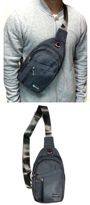 NEW! Cross Body Side Bag Backpack messenger satchel cell phone tablet holder wallet biking school bag work bag sling chest bag for Sale in Los Angeles, CA