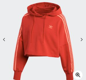 adidas cropped hoodie for Sale in North Attleborough, MA
