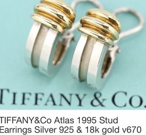 Tiffany & Co Atlas Earrings, rare and stunning for Sale in Silver Spring, MD