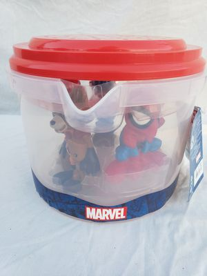 Marvel avengers bath play set $10 for Sale in Torrance, CA