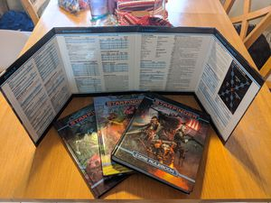Starfinder Core Rulebook, Pact Worlds, Alien Archive, GM Screen for Sale in Bloomington, IL