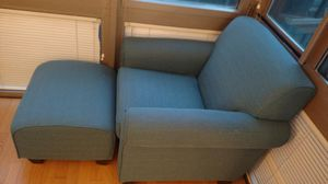 Chair and ottoman for sale for Sale in New York, NY