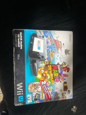 Wii u used with games for Sale in Los Angeles, CA