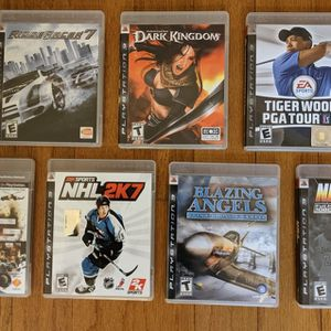 Free PlayStation Games - See Photos For Details for Sale in Fremont, CA
