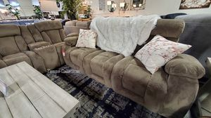 NEW IN THE BOX,SOFA, LOVESEAT, RECLINER, TAN, IN STOCK NOW. for Sale in Midway City, CA