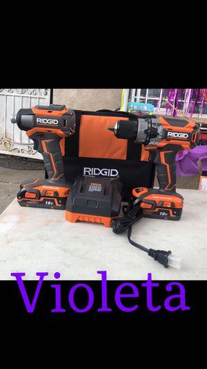 Ridgid 2 tool combo for Sale in Compton, CA