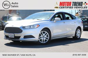 2016 Ford Fusion for Sale in Los Angeles, CA
