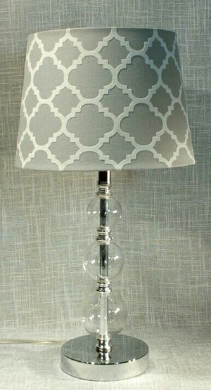 """Lamp with Glass Spheres & Chrome 19"""" x 10""""(1 available) *PICKUP ONLY* home decor, household, desk lamp, office for Sale in Mesa, AZ"""